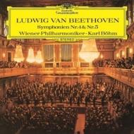 交響曲第5番『運命』、第4番 カール・ベーム&ウィーン・フィル