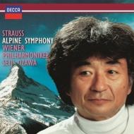 アルプス交響曲、ウィーン・フィルハーモニーのためのファンファーレ、他 小澤征爾&ウィーン・フィル