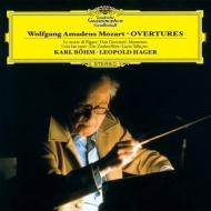 序曲集 カール・ベーム&シュターツカペレ・ドレスデン、レオポルト・ハーガー&ザルツブルク・モーツァルテウム管弦楽団、他