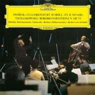 ドヴォルザーク:チェロ協奏曲、チャイコフスキー:ロココの主題による変奏曲 ムスティスラフ・ロストロポーヴィチ、ヘルベルト・フォン・カラヤン&ベルリン・フィル