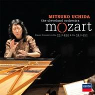 ピアノ協奏曲第23番、第24番 内田光子、クリーヴランド管弦楽団
