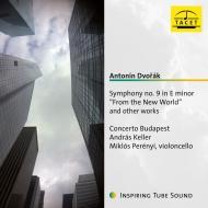 交響曲第9番『新世界より』、スラヴ舞曲集、森の静けさ、他 アンドラーシュ・ケラー&コンチェルト・ブタペスト、ミクローシュ・ペレーニ