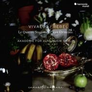 ルベル:四大元素、ヴィヴァルディ:四季 ベルリン古楽アカデミー、ミドリ・ザイラー