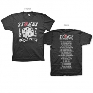 TRS Dice Tour SS T Black XL