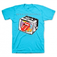 TRS Tv Lips SS Tee Light Blue L