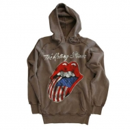 TRS Flag Tongue Hoodie Grey L