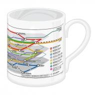 マグカップ (路線図)