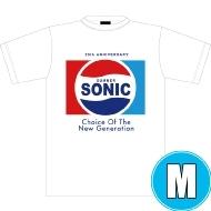 ソニックTシャツ WHITE (M)※事後販売分