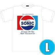 ソニックTシャツ WHITE (L)※事後販売分