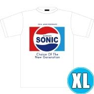 ソニックTシャツ WHITE (XL)※事後販売分
