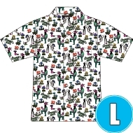 アロハシャツ WHITE (L)