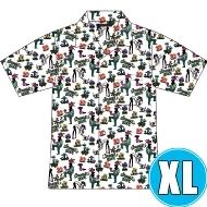 アロハシャツ WHITE (XL)※事後販売分