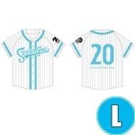 ベースボールシャツ WHITE (L)