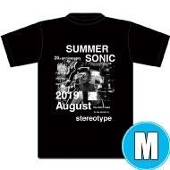 フォトコラージュTシャツ BLACK (M)※事後販売分