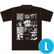ROCK Tシャツ BLACK (L)