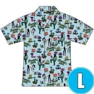 アロハシャツ BULE (L)
