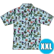 アロハシャツ BULE (XXL)※事後販売分