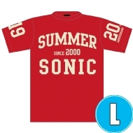 オールドスクールTシャツ RED (L)