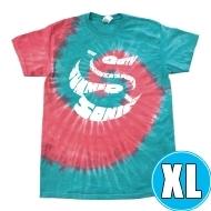 タイダイ染めTシャツ スパイラル柄 (XL)※事後販売分
