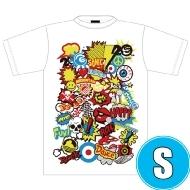 POP ROCK Tシャツ WHTE (S)※事後販売分