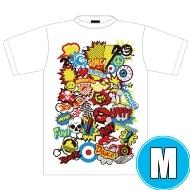 POP ROCK Tシャツ WHTE (M)※事後販売分