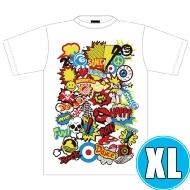 POP ROCK Tシャツ WHTE (XL)※事後販売分