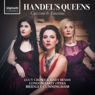 『ヘンデルの女王たち』 ルーシー・クロウ、メアリー・ベヴァン、ブリジット・カニンガム&ロンドン・アーリー・オペラ(2CD)