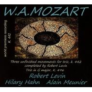 ピアノ三重奏曲第2番(レヴィン版)、第3番 ヒラリー・ハーン、ロバート・レヴィン、アラン・ムニエ(日本語解説付き)