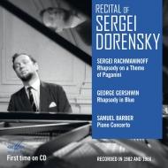ガーシュウィン:ラプソディ・イン・ブルー、ラフマニノフ:パガニーニ狂詩曲、バーバー:ピアノ協奏曲 セルゲイ・ドレンスキー、ドミトリエフ&ソ連文化省響、他