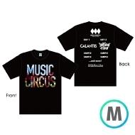 ラインナップTシャツ BLACK [M]