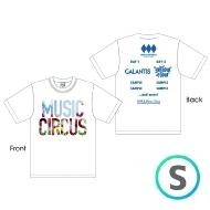 ラインナップTシャツ WHITE [S]