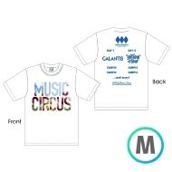 ラインナップTシャツ WHITE [M]