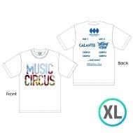 ラインナップTシャツ WHITE [XL]