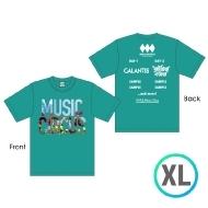 ラインナップTシャツ GREEN [XL]