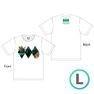 ジャングルロゴTシャツ WHITE [L]