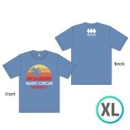 サンセットTシャツ BLUE [XL]