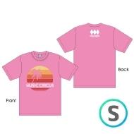 サンセットTシャツ PINK [S]