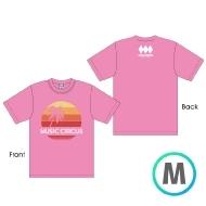 サンセットTシャツ PINK [M]