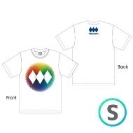 レインボーロゴTシャツ WHITE [S]