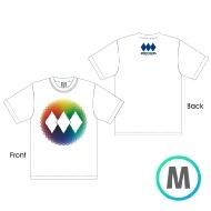 レインボーロゴTシャツ WHITE [M]