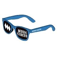 メッシュサングラス BLUE