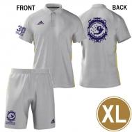 DWL2019 アディダス ポロシャツ&ハーフパンツ XLサイズ