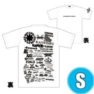 1DAY限定 アーティストロゴコラージュTシャツ [TOKYO 8.17 /  OSAKA 8.16] ホワイトボディ (S)※事後販売分