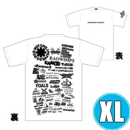1DAY限定 アーティストロゴコラージュTシャツ [TOKYO 8.17 /  OSAKA 8.16] ホワイトボディ (XL)※事後販売分