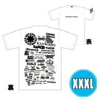 1DAY限定 アーティストロゴコラージュTシャツ [TOKYO 8.17 /  OSAKA 8.16] ホワイトボディ (XXXL)※事後販売分