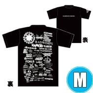 1DAY限定 アーティストロゴコラージュTシャツ [TOKYO 8.17 /  OSAKA 8.16] ブラックボディ  (M)※事後販売分