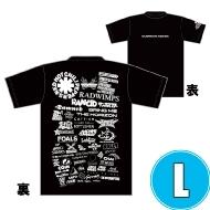 1DAY限定 アーティストロゴコラージュTシャツ [TOKYO 8.17 /  OSAKA 8.16] ブラックボディ  (L)※事後販売分