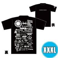 1DAY限定 アーティストロゴコラージュTシャツ [TOKYO 8.17 /  OSAKA 8.16] ブラックボディ  (XXXL)※事後販売分