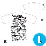 1DAY限定 アーティストロゴコラージュTシャツ [TOKYO 8.18 /  OSAKA 8.17] ホワイトボディ (L)※事後販売分