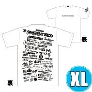 1DAY限定 アーティストロゴコラージュTシャツ [TOKYO 8.18 /  OSAKA 8.17] ホワイトボディ (XL)※事後販売分